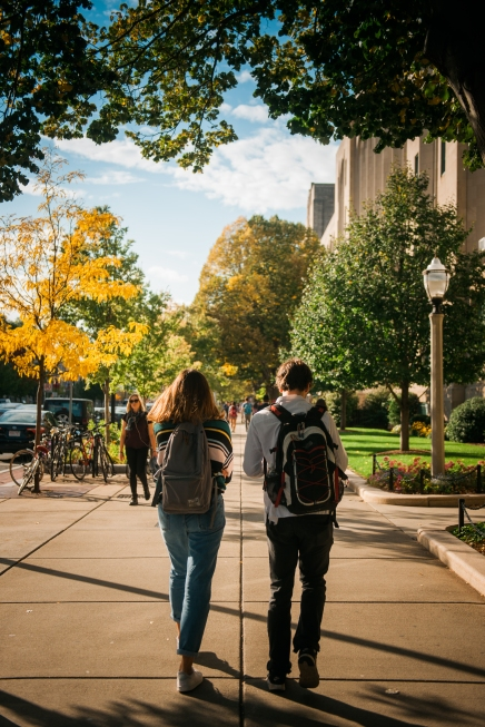 October 17, 2016 - Boston, MA. Campus stock photography. Photographed by Janice Checchio for Boston University Photography.