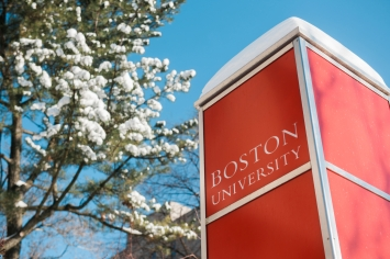1/5/18 - Boston, Massachusetts Campus stock photography. Photo by Janice Checchio for Boston University Photography.