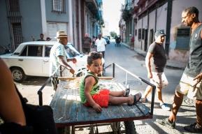 March 5-12, 2017 - Boston, MA. Central Havana. 2017 Alternative Spring Break in Havana, Cuba. Photographed by Janice Checchio for Boston University.