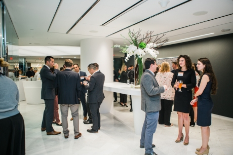 10/9/2018 - Boston, Massachusetts. Kirkland & Ellis Boston office opening event. Photo copyright Janice Checchio.