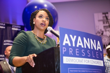 9/4/18 - Boston, Massachusetts. Ayanna Presley's Election Night Party. Photo copyright Janice Checchio.